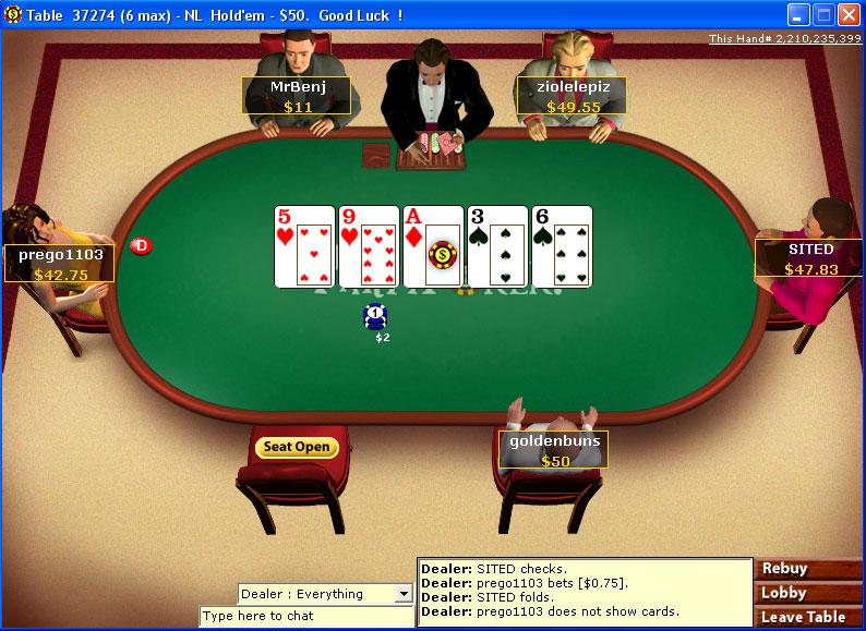 Club 888 poker